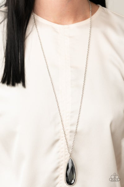 Watch Out for Reign Silver Necklace