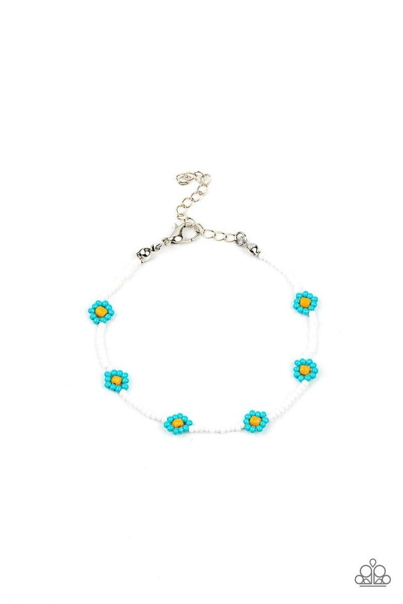 Camp Flower Power Blue Bracelet - PREORDER