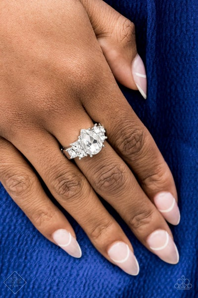 Happily Every Eloquent White Ring