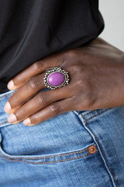 Desert Mine Purple Ring