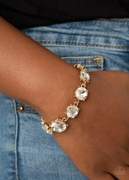 Can't Believe my Ice Gold Bracelet
