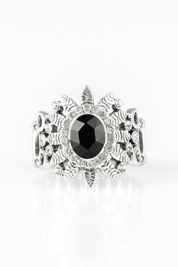 Burn Bright Black Ring - Sparkle with Suzanna