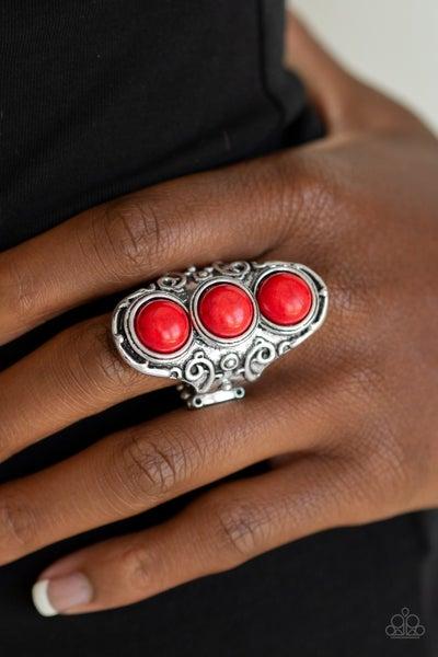 Sahara Soul Red Ring