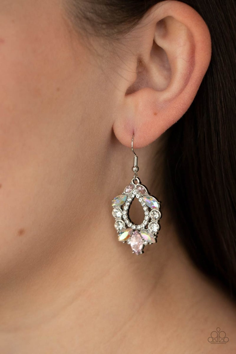 New Age Noble Unicorn Rhinestone Earring - PREORDER