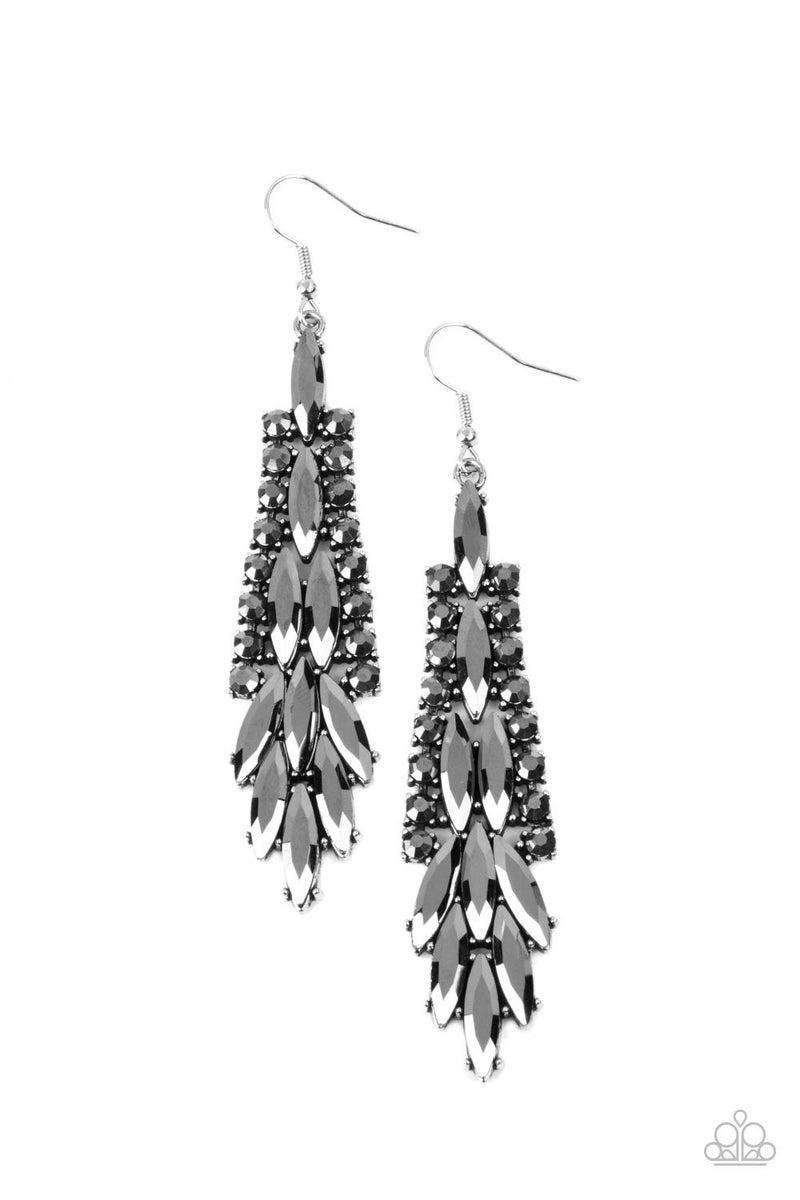 Crown Heiress Silver Earring - PREORDER