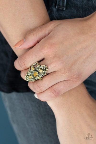 Glam Demand Brass Ring