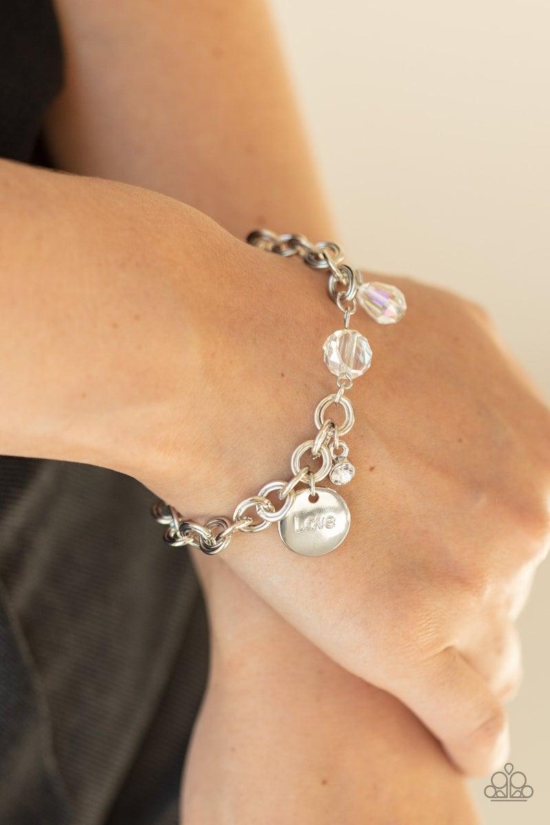 Lovable Luster White Bracelet