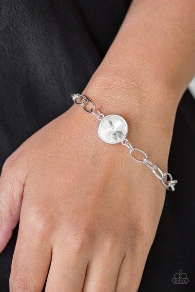 All A Glitter White Bracelet