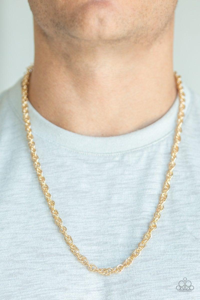 Lightweight Division Gold Urban Necklace