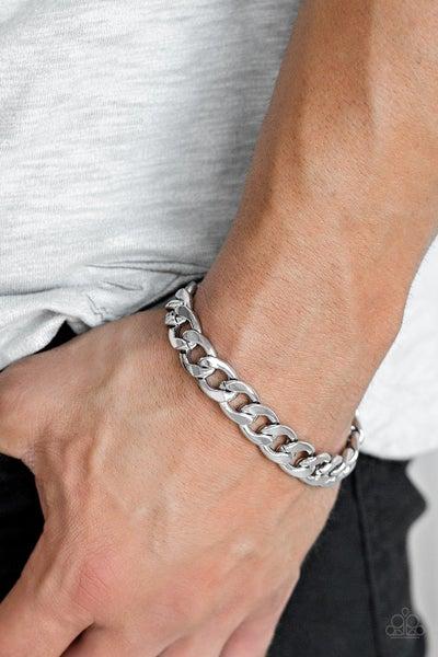 Leader Board Silver Urban Bracelet