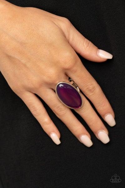 Mystic Moon Purple Ring