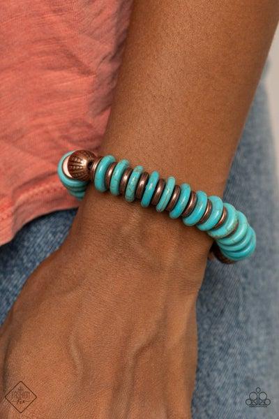 Eco Experience Copper Blue Bracelet