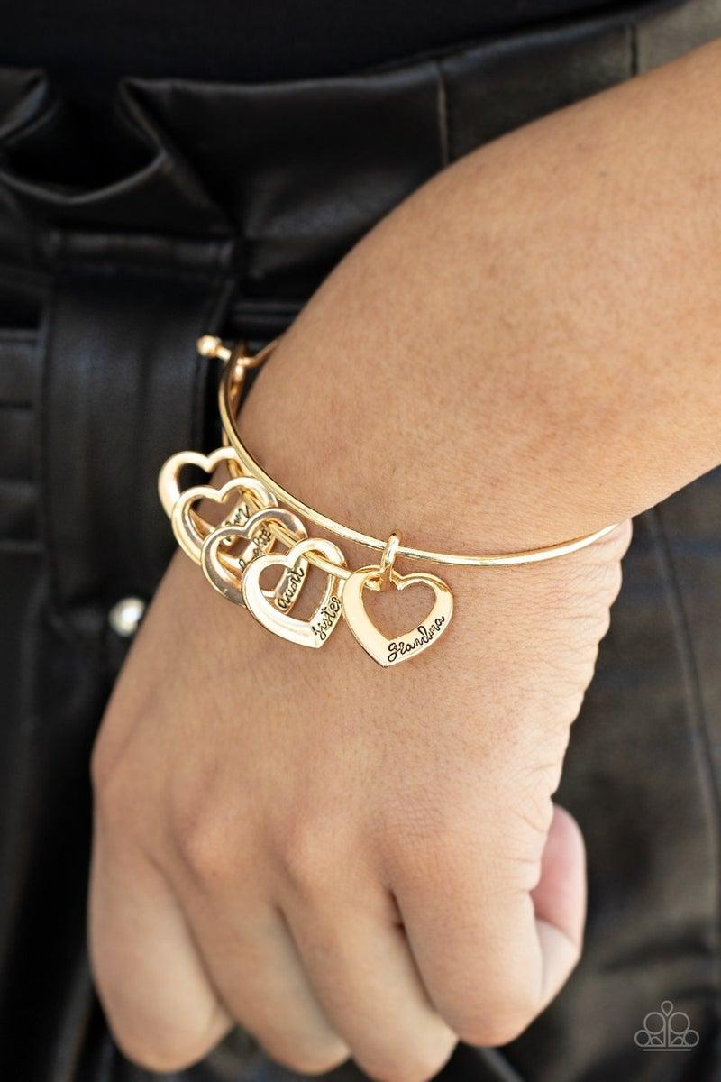 A Charmed Society Gold Bracelet
