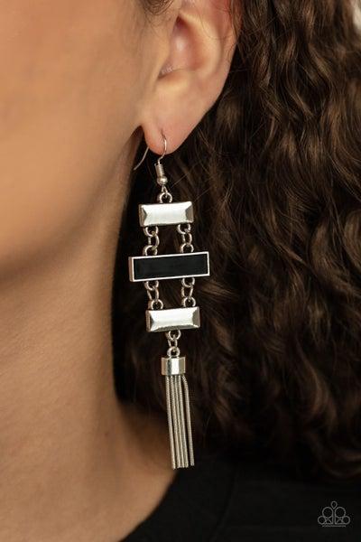 Mind, Body, and SEOUL Black Earring