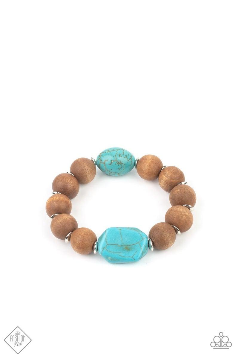 Abundantly Artisan Blue Bracelet - Fashion Fix