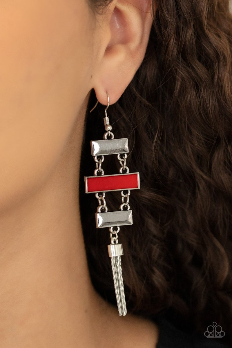 Mind, Body, and SEOUL Red Earring