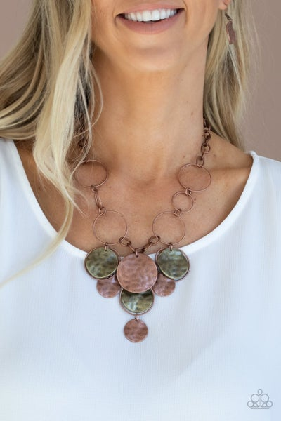 Learn the HARDWARE Copper Necklace