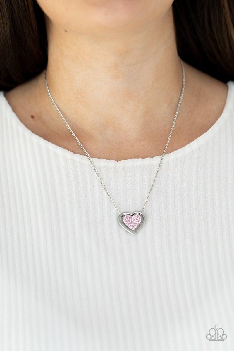 Game, Set, Matchmaker Pink Necklace