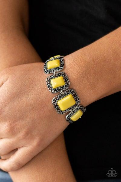 Retro Rodeo Yellow Bracelet