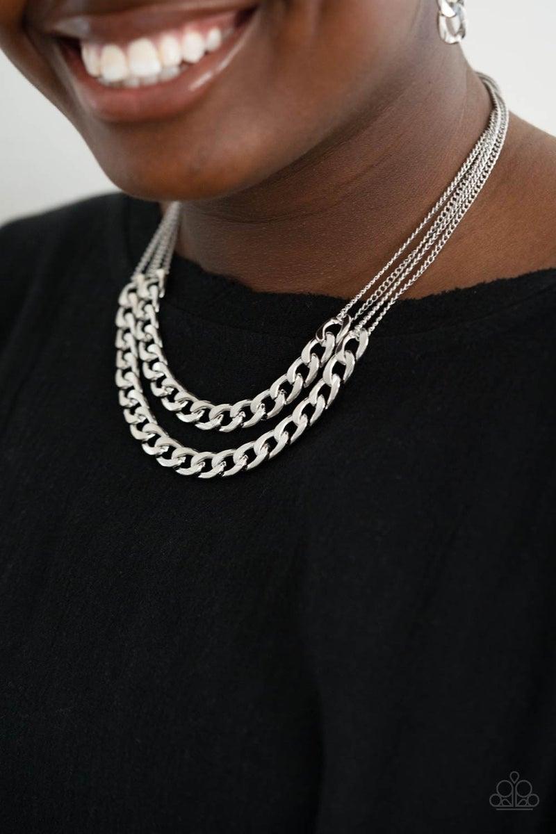 Urban Culture Silver Necklace