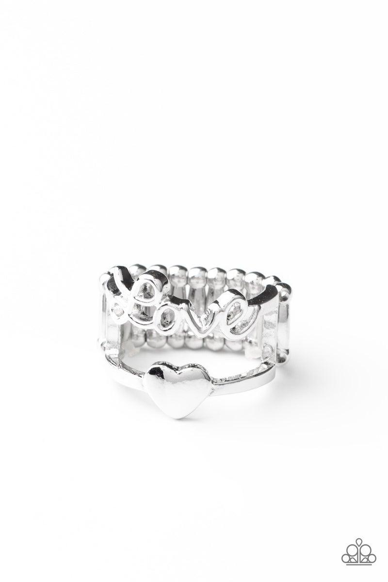 Heartstring Harmony Silver Ring
