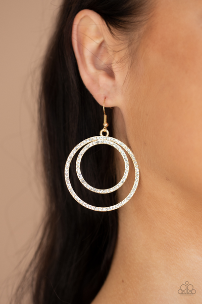 Radiating Refinement Gold Earring