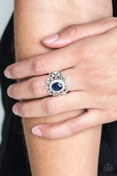 Burn Bright Blue Ring - Sparkle with Suzanna