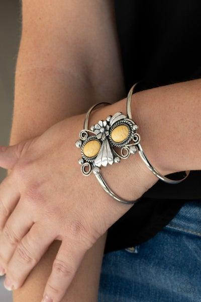 Mojave Flower Girl Yellow Bracelet