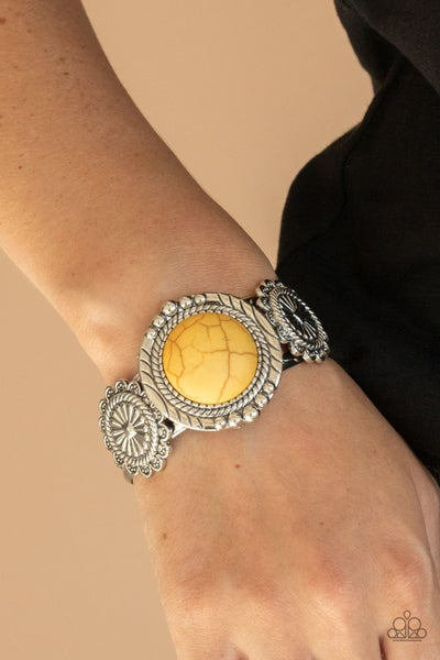 Mojave Motive Yellow Bracelet