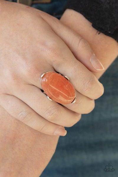 Desert Heirloom Orange Ring