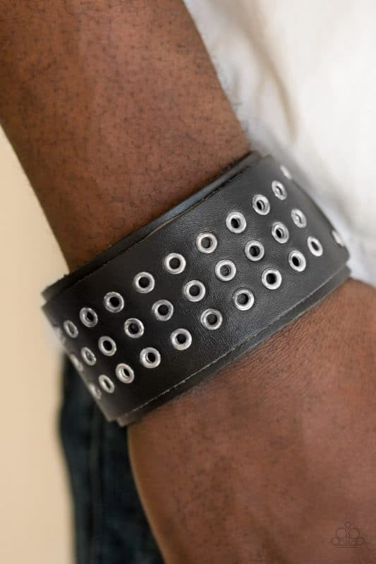 Road Rage Black Urban Bracelet