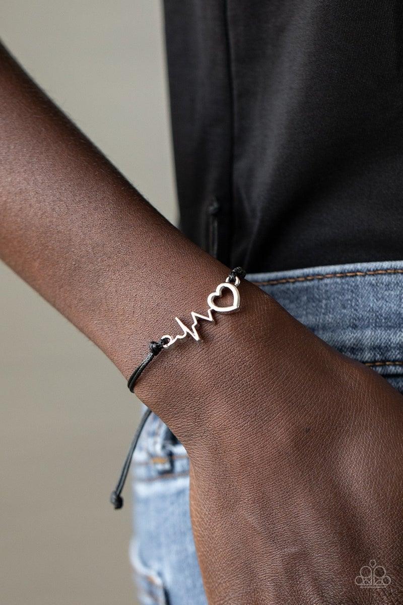 Cardiac Couture Black Bracelet