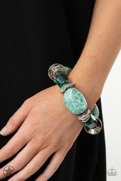 Glaze of Glory Blue Bracelet