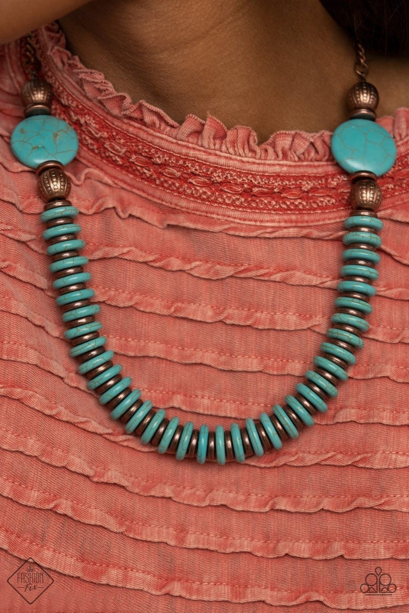 Desert Revival Copper Necklace