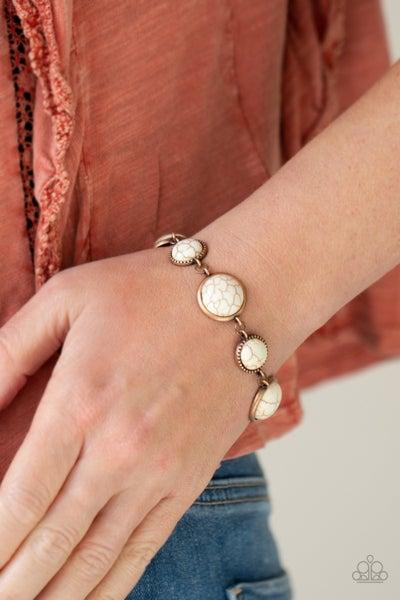 Turn Up The Terra Copper Bracelet