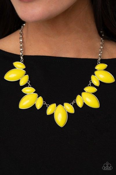 Viva La Vacation Yellow Necklace