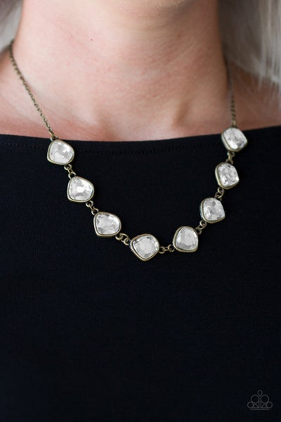 The Imperfectionist Brass Necklace