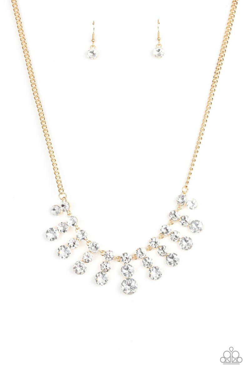 Celebrity Couture Gold Necklace