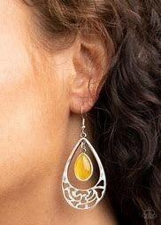 DEW You Feel Me? Yellow Earring