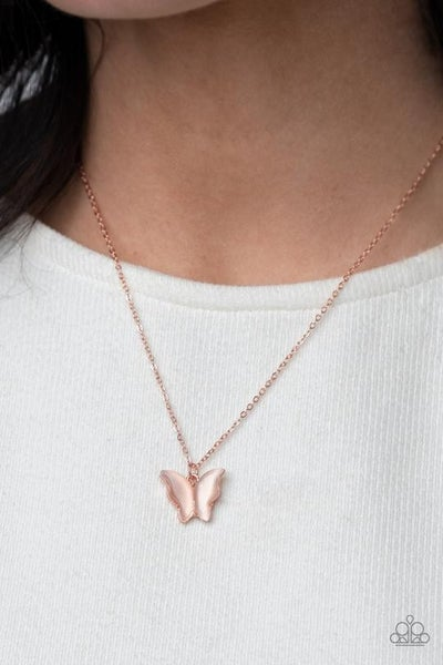 Butterfly Prairies Copper Necklace - Sold Out!