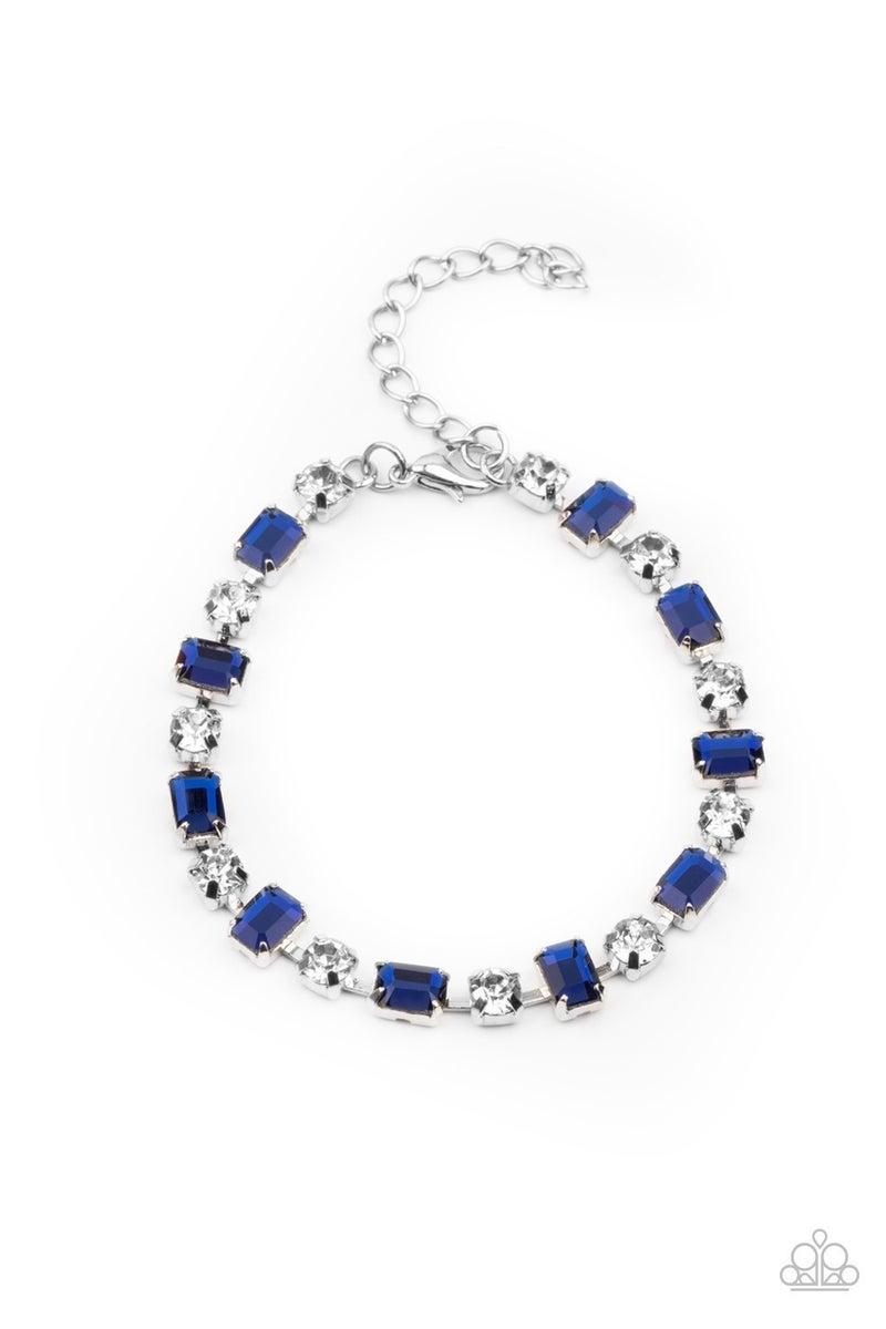Out In Full FIERCE Blue Bracelet