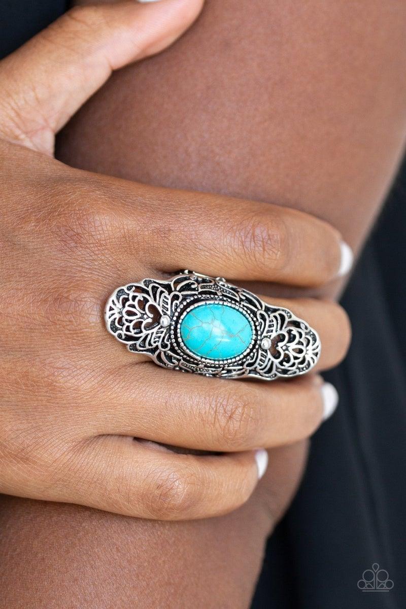 Ego Trippin' Blue Ring