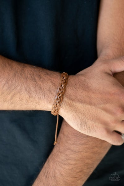 Time To Hit The RODEO Brown Urban Bracelet