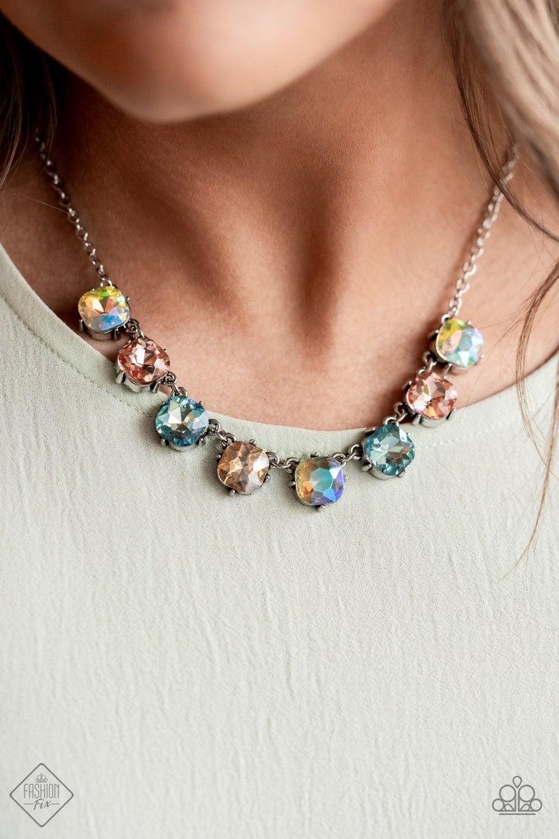 Dreamy Decorum Multi Necklace - Sparkle with Suzanna