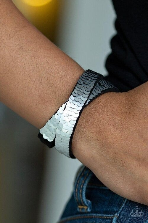 Under The Sequins Silver Urban Bracelet