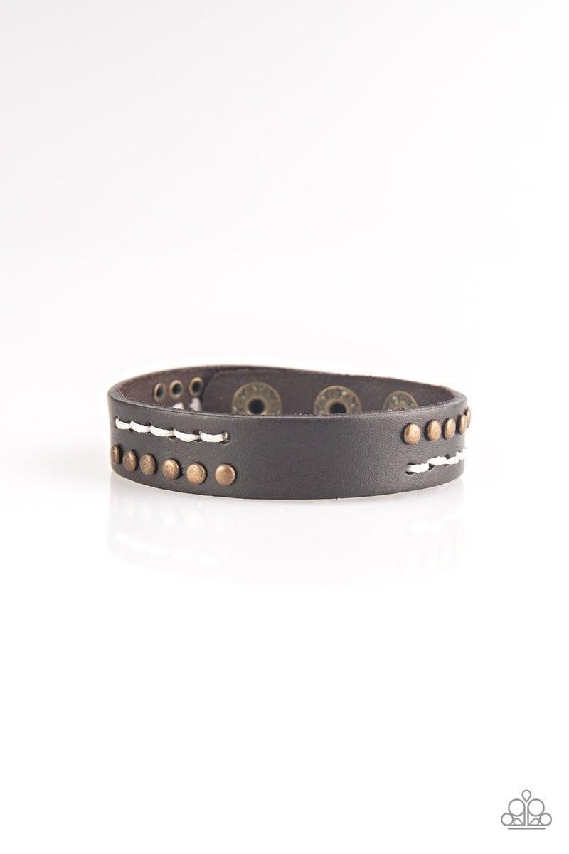 Always An Adventure Brown Urban Bracelet