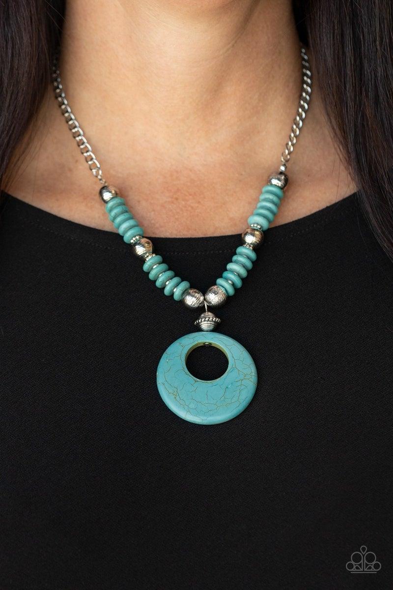 Oasis Goddess Blue Necklace - PREORDER