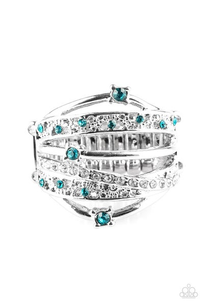 Making The World Sparkle Blue Ring