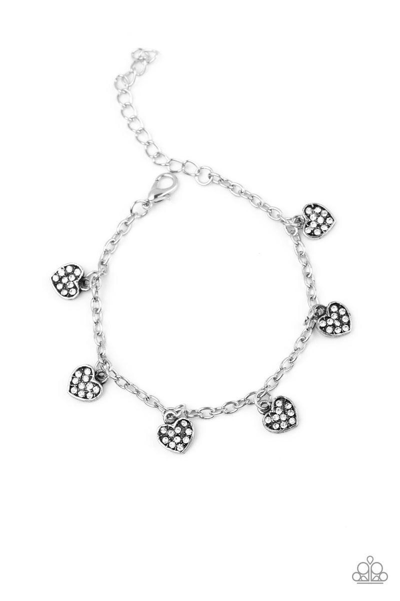 Valentine Vibes White Bracelet