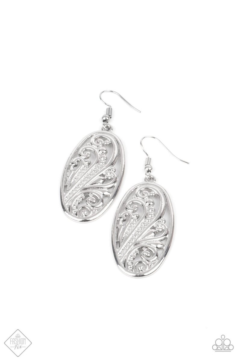 High Tide Terrace Silver Earring - PREORDER August FF